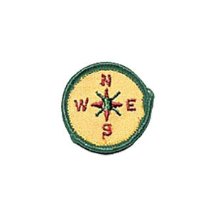 Girl Scout badge Finding Your Way